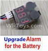 Wltoys 12404 Upgrade Alarm for the Battery,Can test whether your battery has enouth power